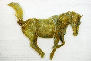 Pets Ashes into Glass horse dog cat